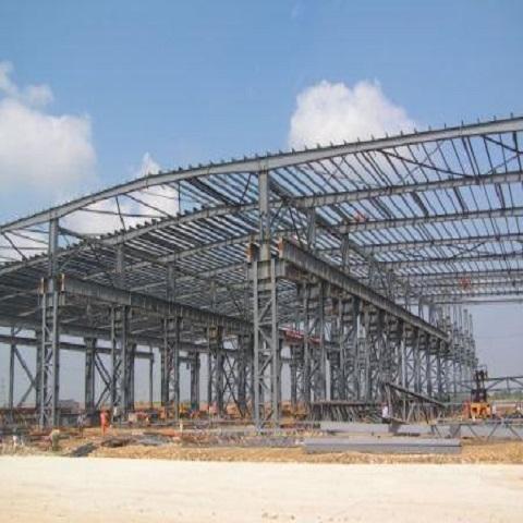 钢结构库房施工