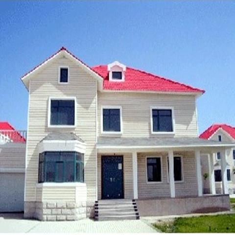 二层钢结构别墅