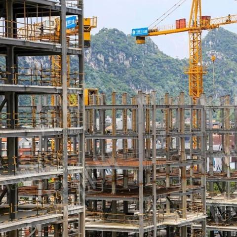 高层建筑钢结构框架混凝土剪力墙体系