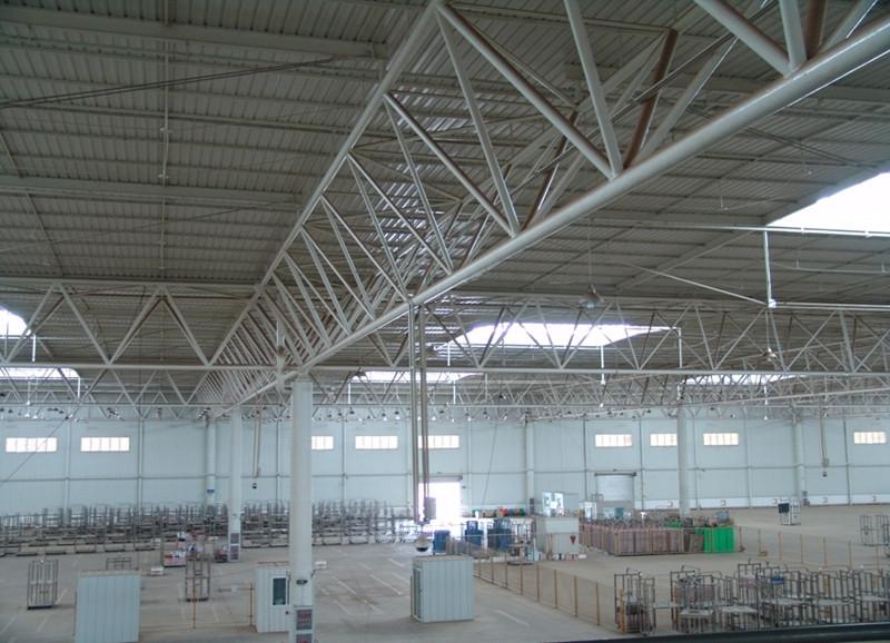 天津金洪制造机械有限公司(天津汽车零部件基地钢结构厂房)